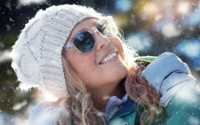 5 důvodů proč nosit sluneční brýle vzimě