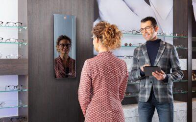 Nový systém pro přesné vyměření brýlí